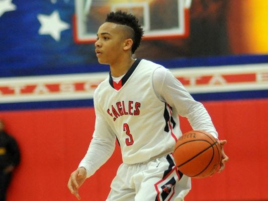 Texas PG Carsen Edwards became Purdue's first 2016 recruit.