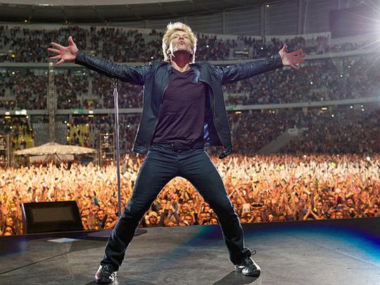 Jon Bon Jovi: He can pump you up.