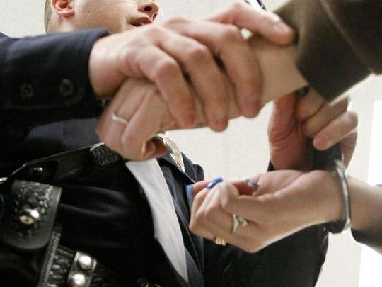 Handcuffs file photo