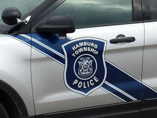 Hamburg Township Police car