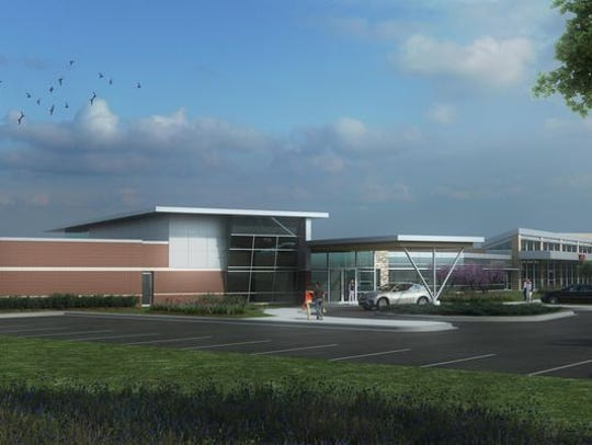 A rendering of Marshfield Clinic's patient comfort