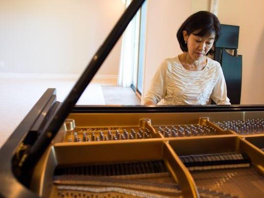 Yuki Minagawa has played the piano since she was 4.