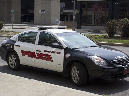 binghamton police vehicle