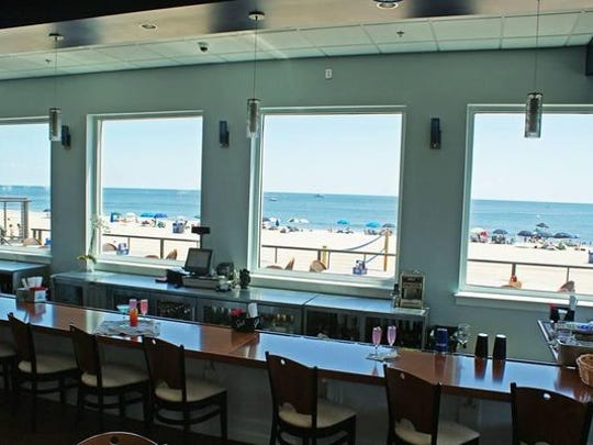 Mister C's Beach Bistro in Allenhurst, which was destroyed by superstorm Sandy, has reopened and will host a grand reopening celebration on Friday.