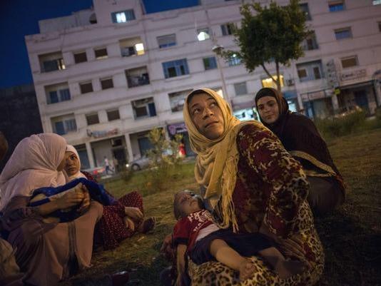 SPAIN-EU-SYRIA-MIGRANTS-CHILDREN
