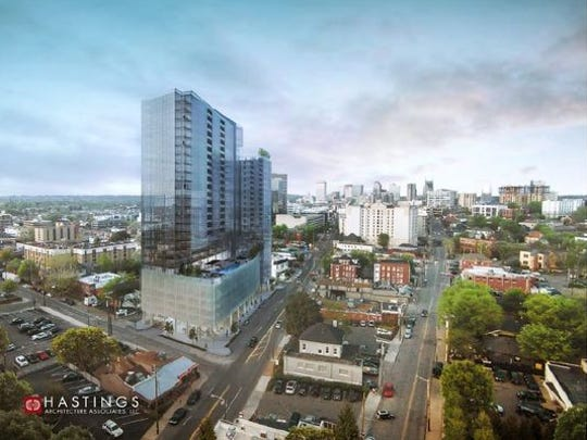 A rendering of the mixed-use project Land Development.com