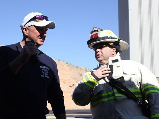Mesquite and several Southern Nevada fire departments are launching a recruitment drive with a series of open houses starting on Nov. 16 .