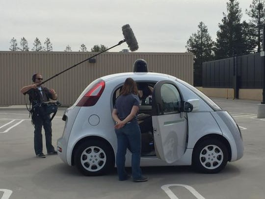 Google's self-driving car prototype fits two people,