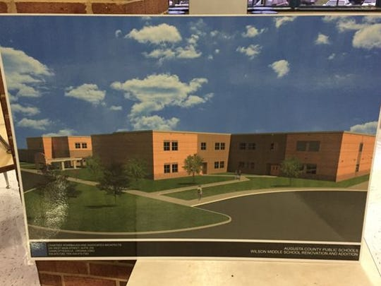 An expansion to Wilson Middle School is expected to be mostly completed by the start of the 2016-2017 school year.