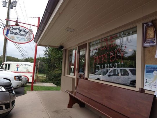 Before closing, Country Boy Restaurant was a staple
