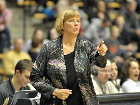 Sharon Versyp and the Boilermakers begin the regular season on Friday.