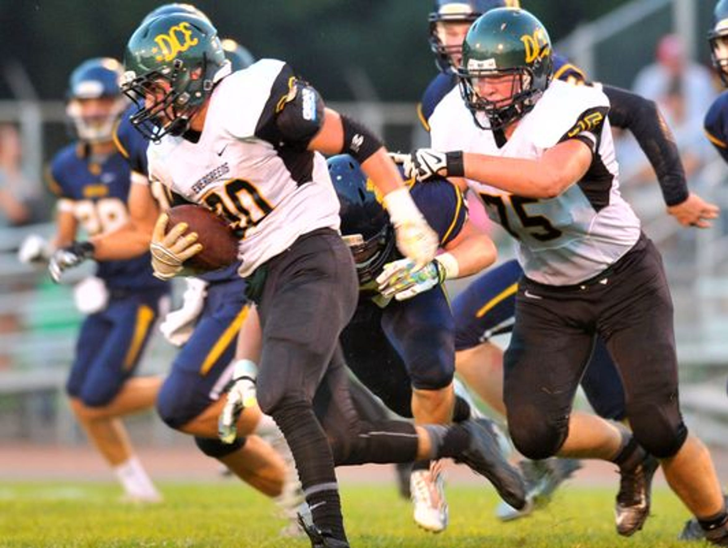 Stephen Paoli rushed for more than 1,400 yards this