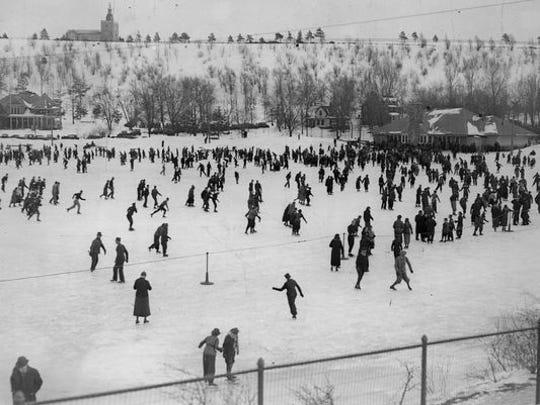 Cobbs Hill park circa 1930s