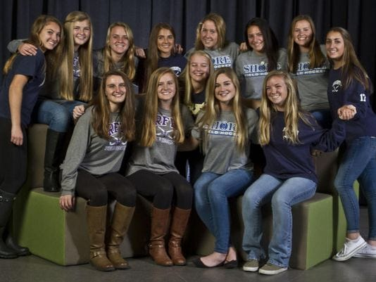 2015 All-Shore Field Hockey team