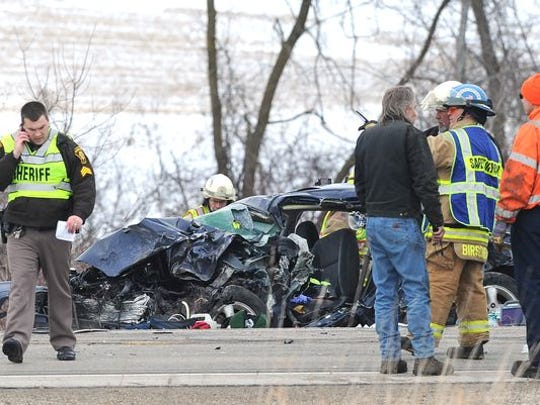 Two died in a car accident on State 23 last January.