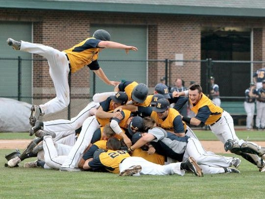 Hartland baseball won its first baseball state championship