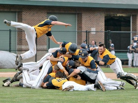 Hartland baseball won its first baseball state championship