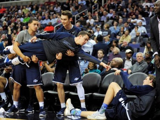 Monmouth's bench mob is now celebrated in song.