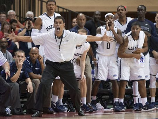 King Rice and the Monmouth men's basketball team have