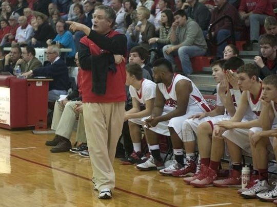 Bucyrus Coach Tony Rose collected his 150th career win in 2015. On Monday night, The Bucyrus School District held a special Board of Education meeting and by a 3-2 vote, the job of boys basketball coach was officially opened.