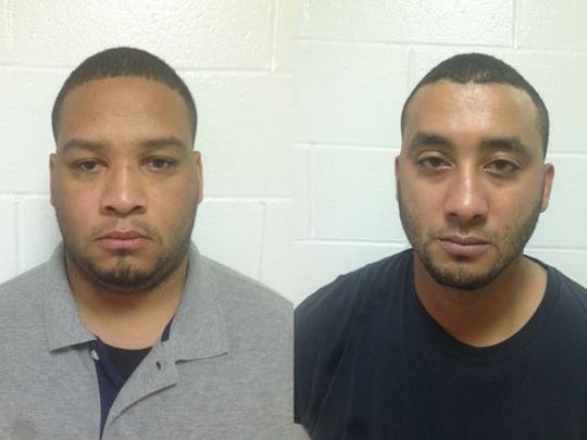 Derrick Stafford (left) and Norris Greenhouse Jr. are expected to go to trial on murder charges in 2016 in connection with the Marksville shooting death of 6-year-old Jeremy Mardis.