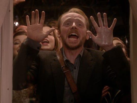 "Simon Pegg in ""Man Up."""