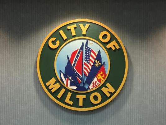 Milton city seal