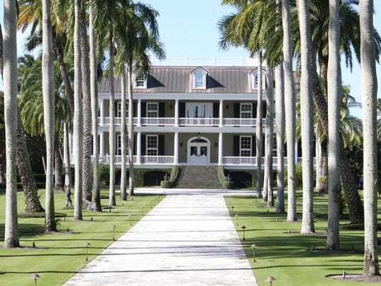 1. The beachfront home at 2500 Gordon Drive in Naples' most exclusive community, Port Royal, sold in March $2M shy of being the most expensive sale in Southwest Florida history.