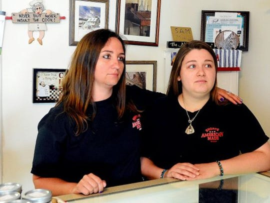Sisters Alecia Armold (left) and Becky Schrum started