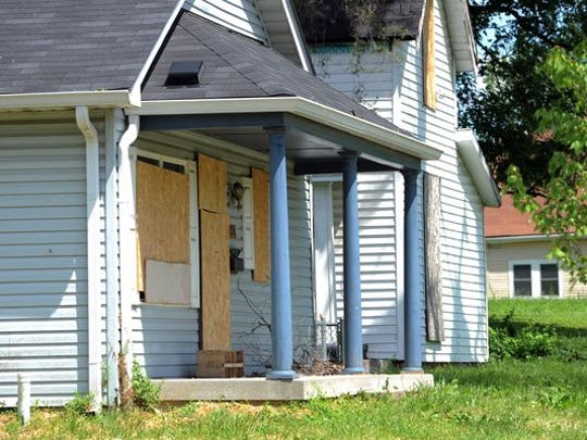 There are an estimated 7,000 or so abandoned homes in Indianapolis.
