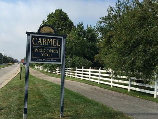 City of Carmel sign