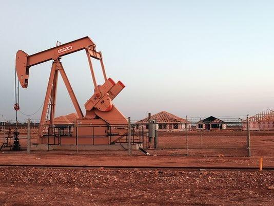 Midland, Texas oil well