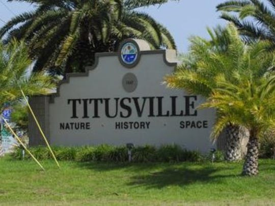 The city of Titusville fell prey to an online scam,