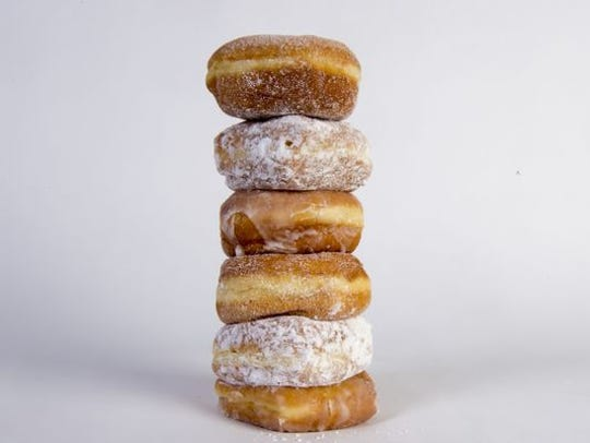 Fastnachts, or German-style doughnuts, are popular on Fat Tuesday.