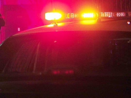 File - police lights