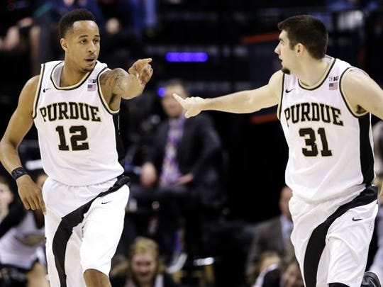 Purdue forward Vince Edwards came into his own late in the season.