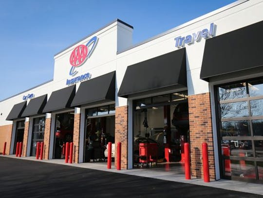 The AAA Car Care, Insurance and Travel Center in Dover