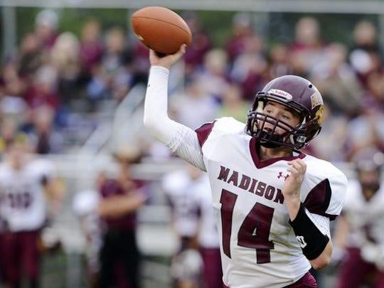 Madison's Mitch Hansen.