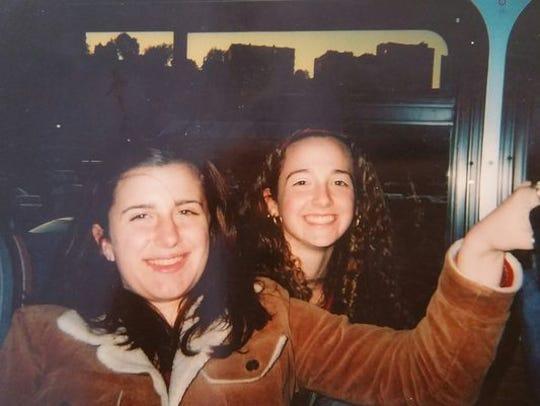 Alicia Cook, right, lost her cousin Jessica, left,