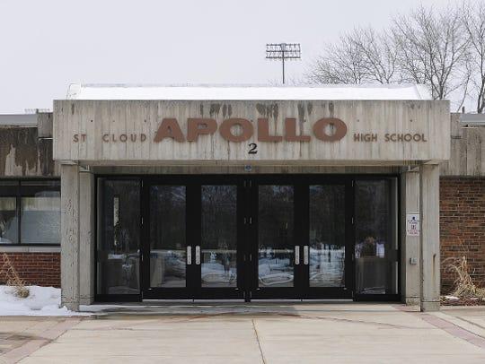 Door 2 at Apollo High School