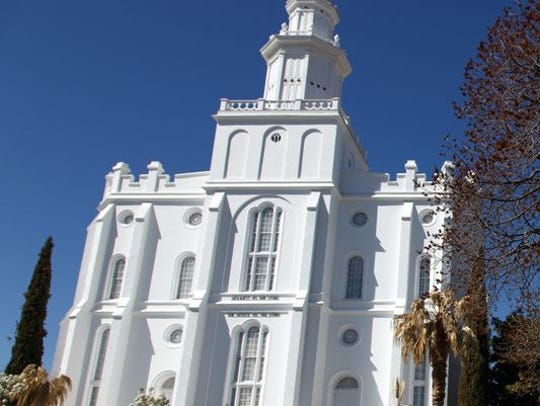 The St. George Temple of the Church of Jesus Christ of Latter-day Saints is one of the 162 temples where members can undergo temple sealing ceremonies.