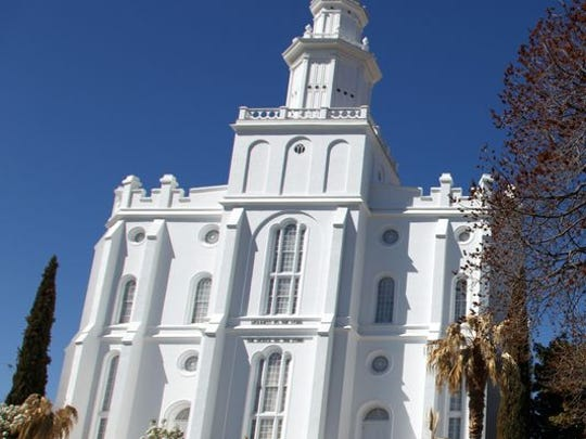 The St. George Temple of The church of Jesus Christ