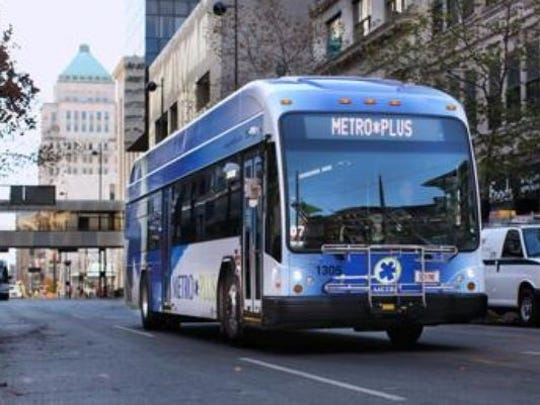 Leaders of the Metro bus system, which is currently funded by a city of Cincinnati earnings tax, are mulling requesting a Hamilton County sales tax instead.