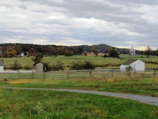 Land in Cumberland Township, which borders Gettysburg