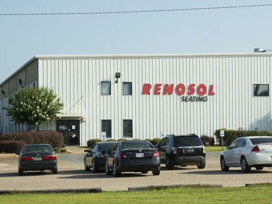 Lear Corp.-owned Renosol Seating in Selma makes parts for the Hyundai assembly plant in Montgomery.
