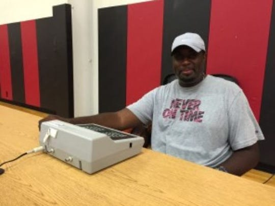 Bryan Caver now coaches kids in basketball skills in and around his hometown of Trenton