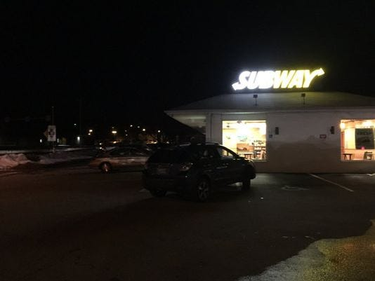 car shot at
