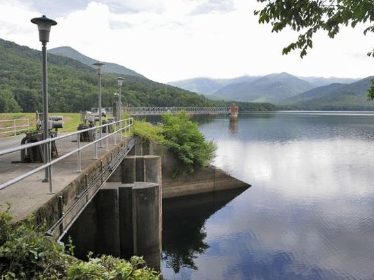 North Fork Reservoir, in Black Mountain, is one of Asheville's two primary drinking water sources. The other is Bee Tree Reservoir in Swannanoa. The Mills River is the city's secondary drinking-water source