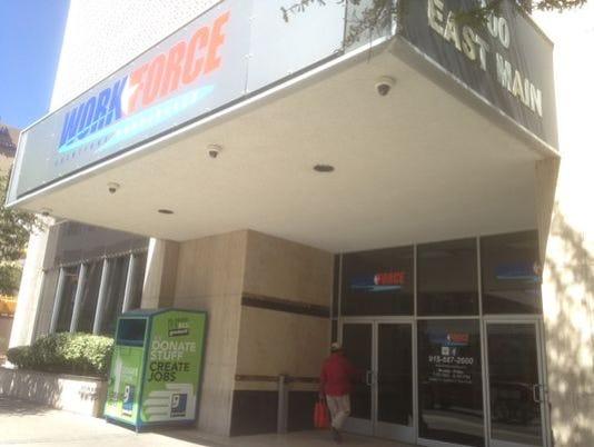 Workforce center-El Paso