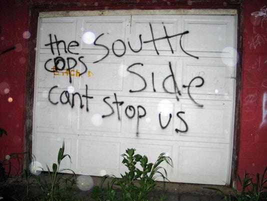 Southside-graffiti
